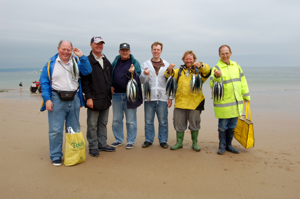 Photo of Group after a days fishing