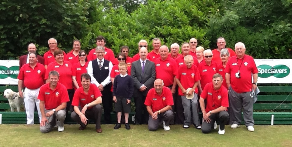 group photo of members of the Welsh Association